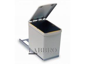 Vestavný odpadkový koš Linea 280 1x16 litrů