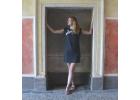 Šaty simple šedivé minimal ledňáček