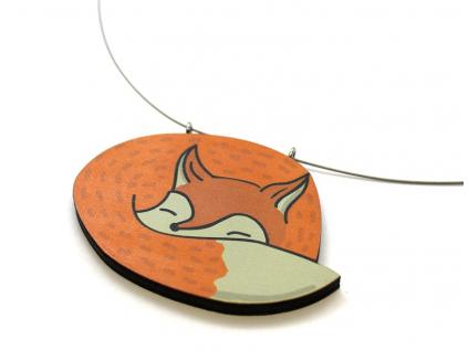 Náhrdelník liška