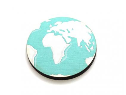 Brož zeměkoule