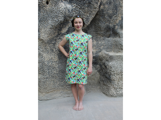 Šaty simple Tukan