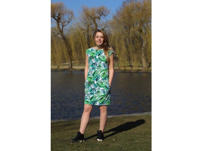 Šaty Palmové listy