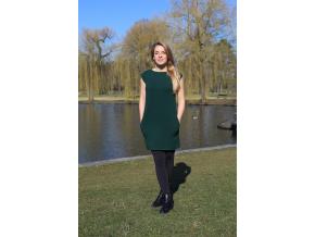 Šaty Šedesátky zelené