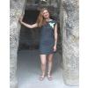 Šaty simple šedivé funky ledňáček