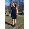 Šaty Šedesátky modré