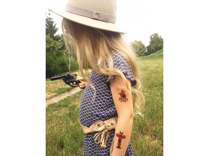 Kresky - kovbojské tetovačky (Na divokém západě)
