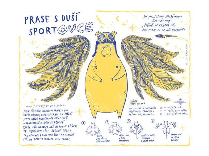 prase s dusi sportovce 72