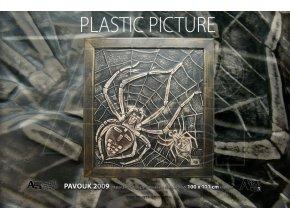 pavouk plastika
