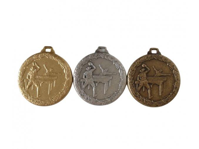 medaile motiv pingpong