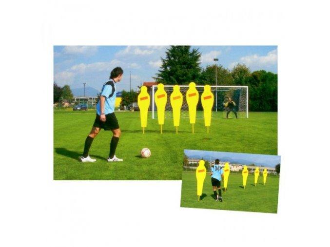 Cvičná treninková pevná zeď - 1 figura
