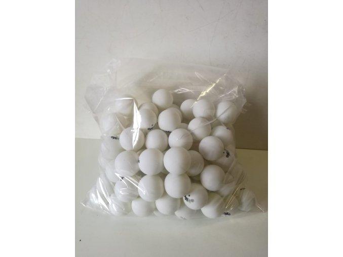 Míček na stolní tenis *  1 ks, bílý