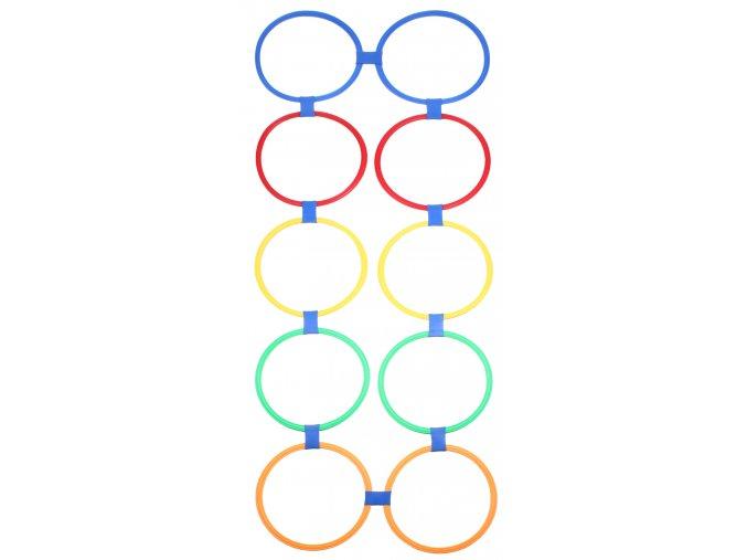 Agility Circles nastavitelné proskakovací obruče