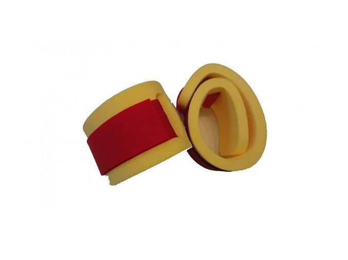nadlehcovaci rukavky par cerveny zip 550x100x15 86010 0