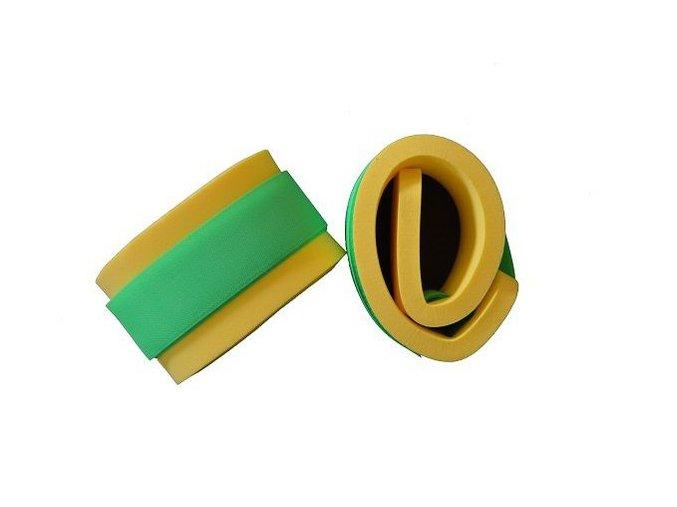 nadlehcovaci rukavky par neon zeleny zip novinka 550x100x15mm 84667 0