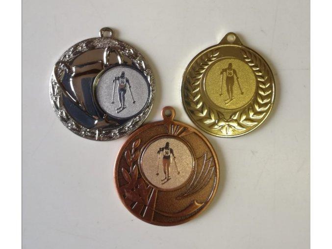 Medaile set, emblém běžky