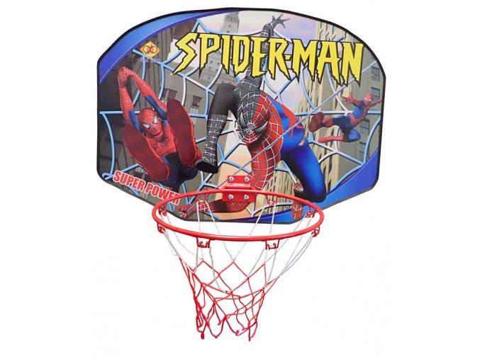 basketbalova deska spiderman