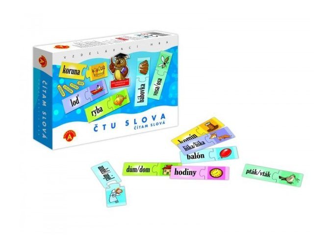 Hra - Čtu slova