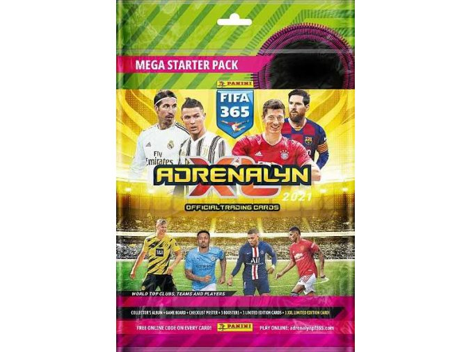 adrenalyn starter set