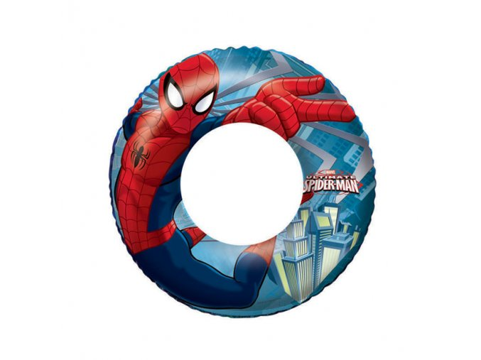 kruh plavecky spiderman