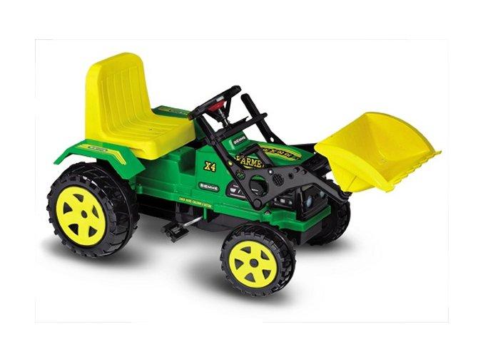 1330 traktor FARMER s drapákem zelený