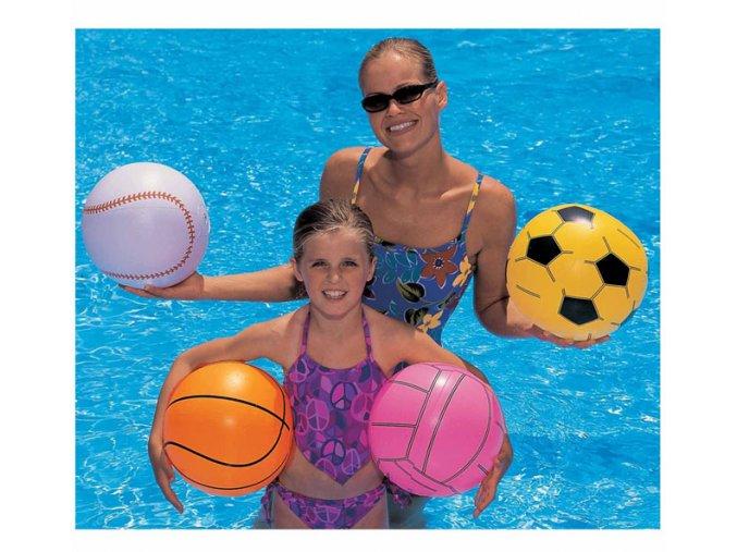 Plážový míč 41 cm sporty