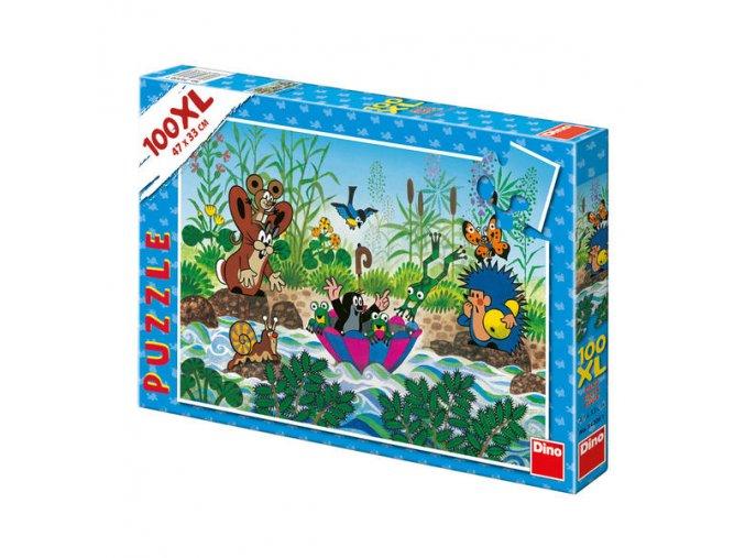 puzzle krteckova plavba 100xl