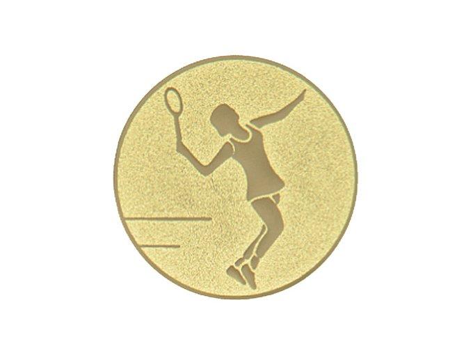emblem tenis zena