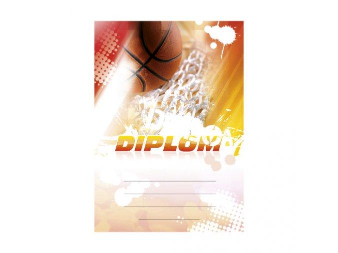 diplom basketbal 6625