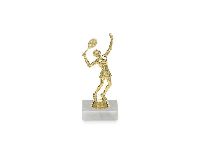 figurka tenis zena 8586