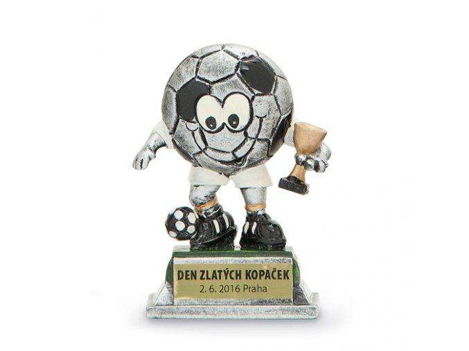 Plaketa fotbal 12599