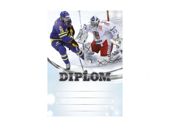 diplom hokej 6607
