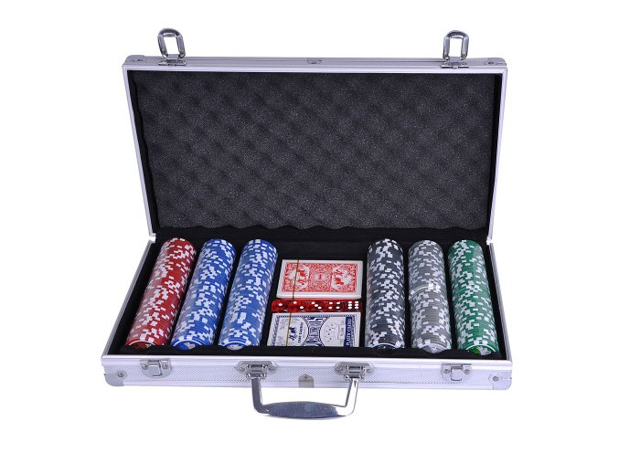 Poker set kufřík 300