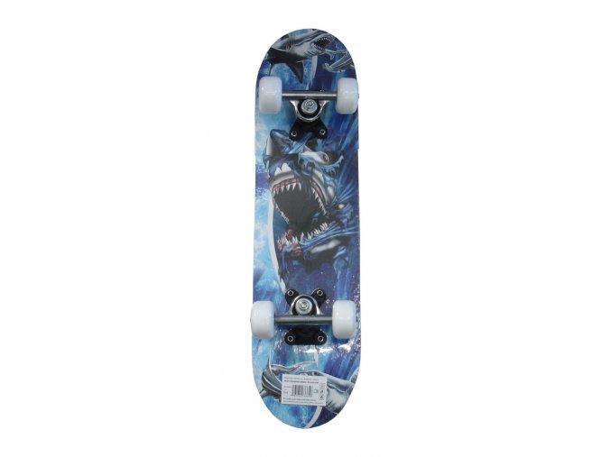 skateboard detsky zralok