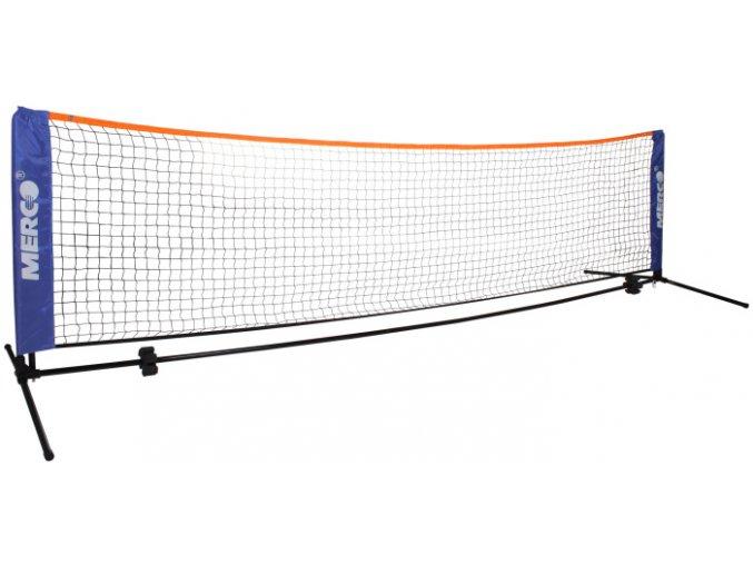 Tenis/badminton set 6,1 m stojany na kurt vč. sítě