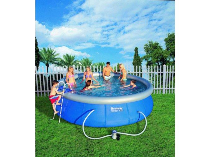 Bazén samostavěcí 457x107 cm s příslušenstvím