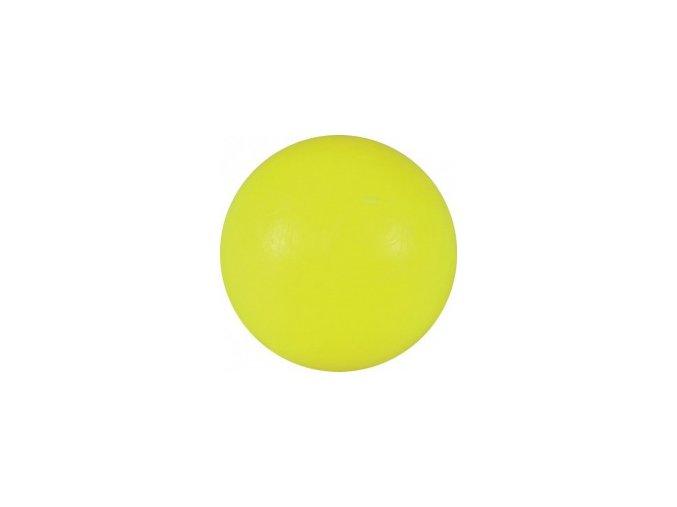 Stolní fotbal míček žlutý, plast