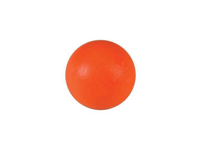 Stolní fotbal míček oranžový, plast