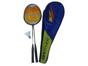 badminton sada 2palky kosicek brother