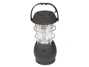kempingova lampa se solarnim dobijenim