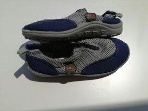 Boty do vody dětské  modro-šedé