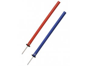 60267 slalomova tyc gummy s ocelovym bodcem 60 cm liski v
