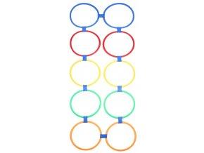 Agility Circles nastavitelné proskakovací obruče 10ks