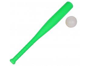 Baseballová pálka s míčkem Plastic Baseball Bat