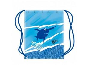 detsky plavecky vak s rybickou modry 86338 0