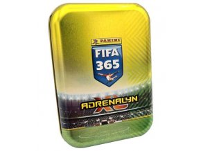 PANINI FIFA 365 2020 2021 ADRENALYN plechova krabicka pocket