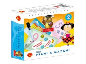 Hra - Psaní a mazání 2 Čísla