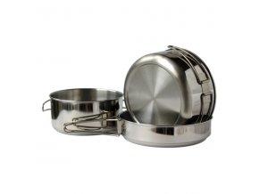 Var nádobí 3-dílné nerez