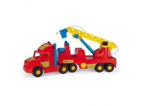auto super truck hasici wader