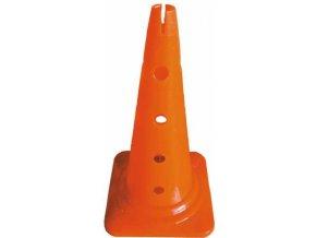 Kužel s otvory 50 cm, oranžový