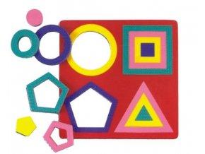Geometrické tvary EVA pěna vkládací